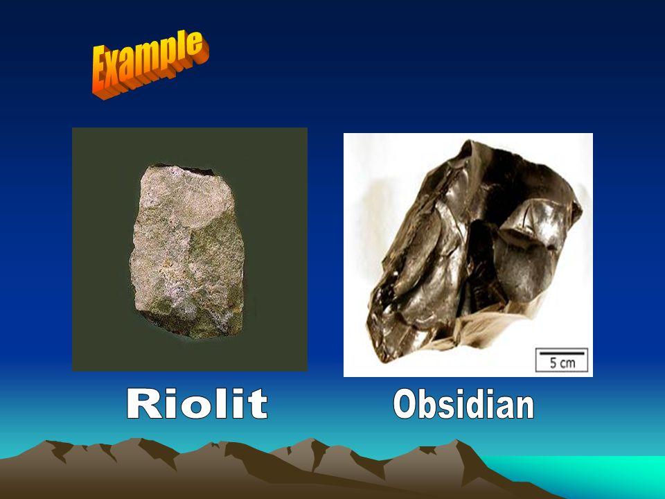 Example Riolit Obsidian