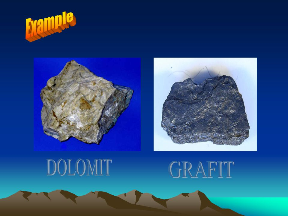 Example DOLOMIT GRAFIT
