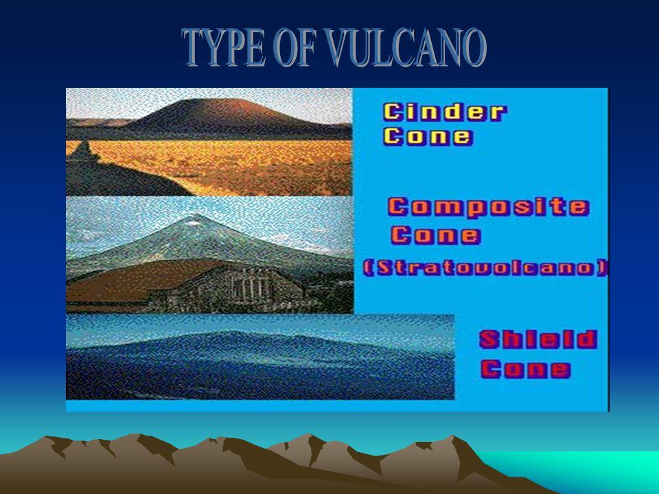 TYPE OF VULCANO
