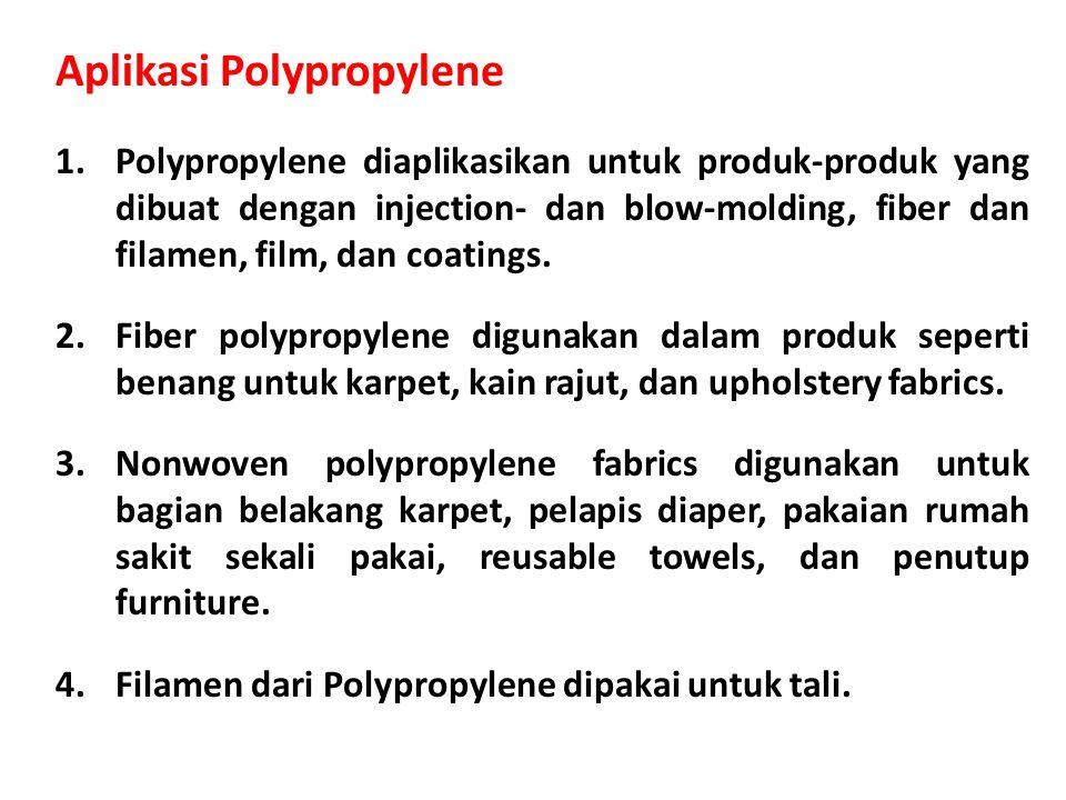 Aplikasi Polypropylene