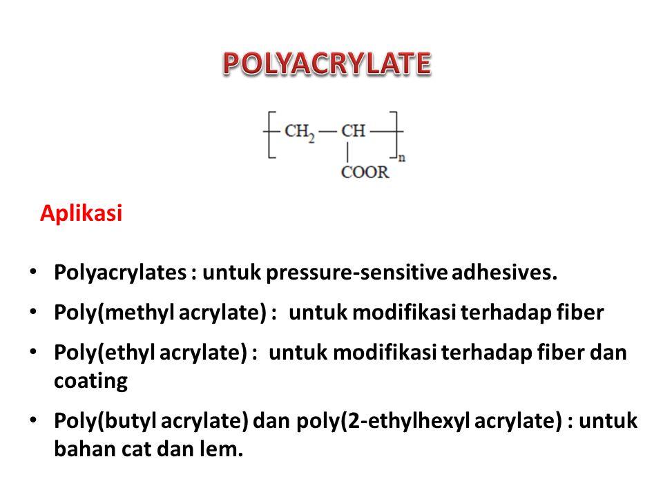 POLYACRYLATE Aplikasi