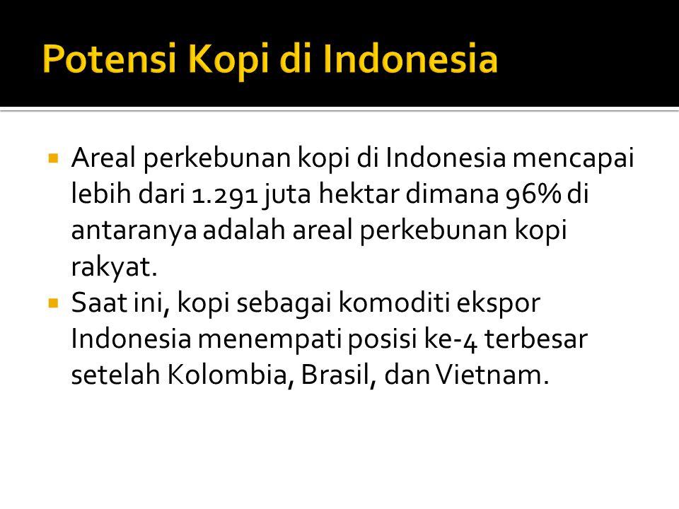 Potensi Kopi di Indonesia