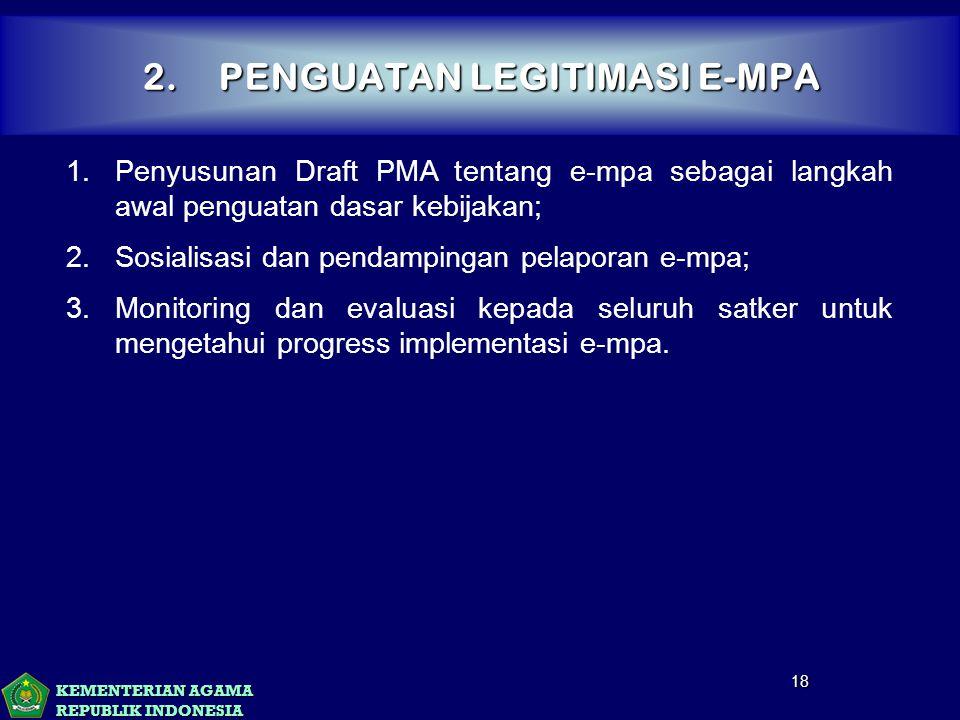 2. PENGUATAN LEGITIMASI E-MPA