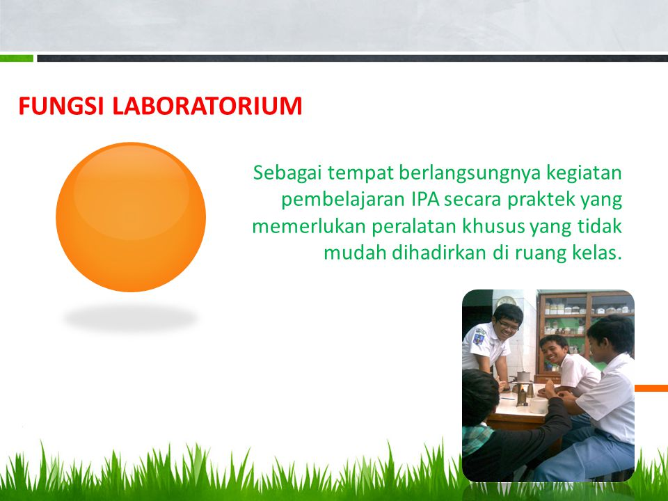 Fungsi Laboratorium