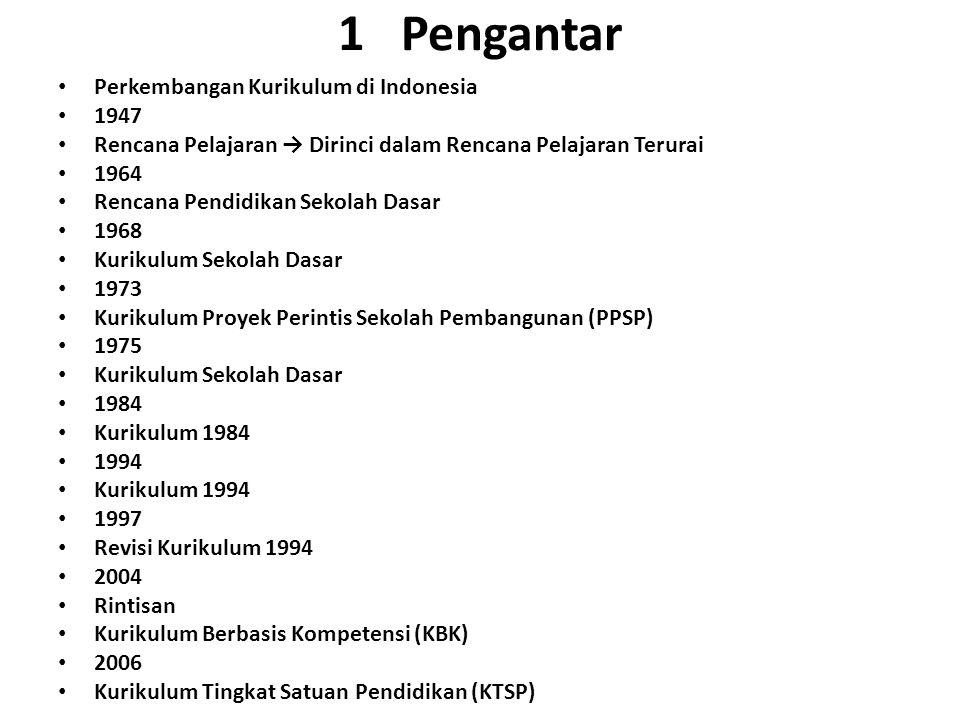 1 Pengantar Perkembangan Kurikulum di Indonesia 1947