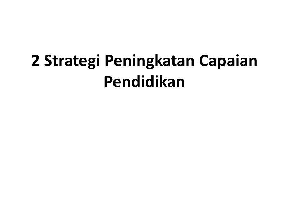 2 Strategi Peningkatan Capaian Pendidikan
