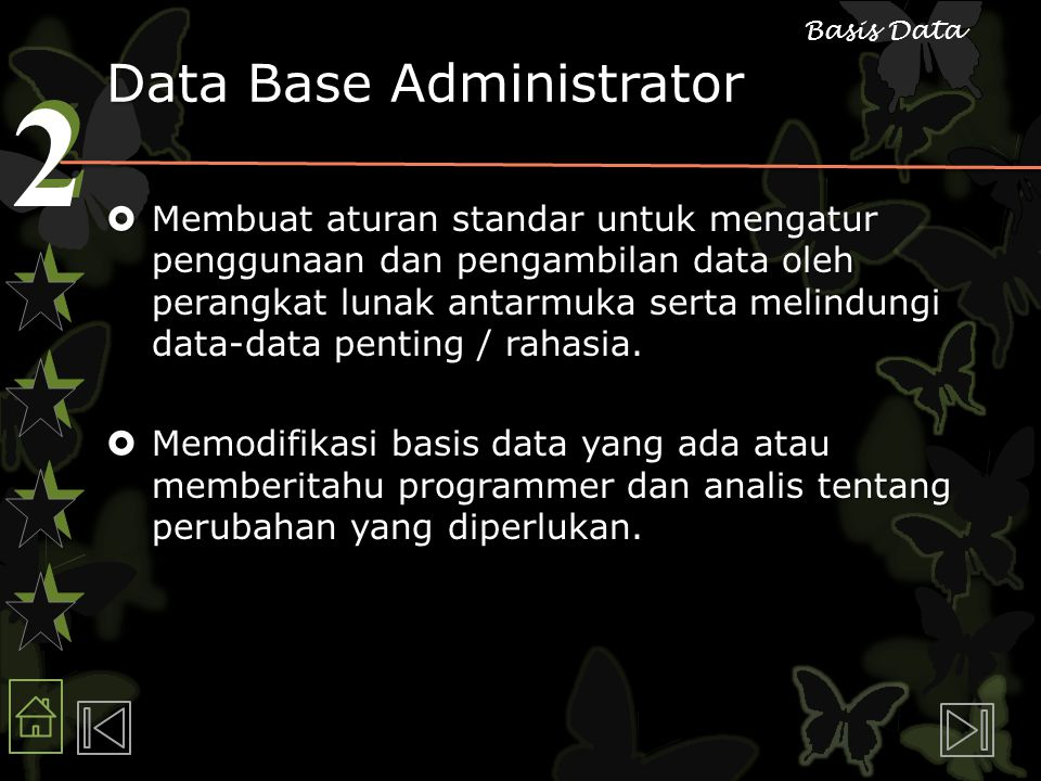 Data Base Administrator