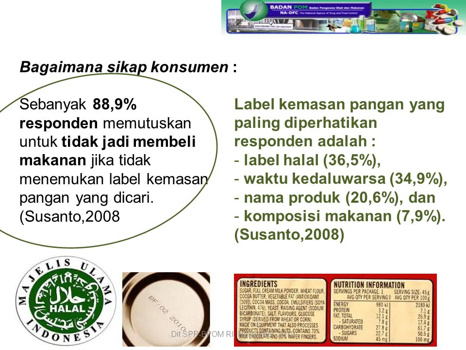 Dit SPP-BPOM RI, November 2013