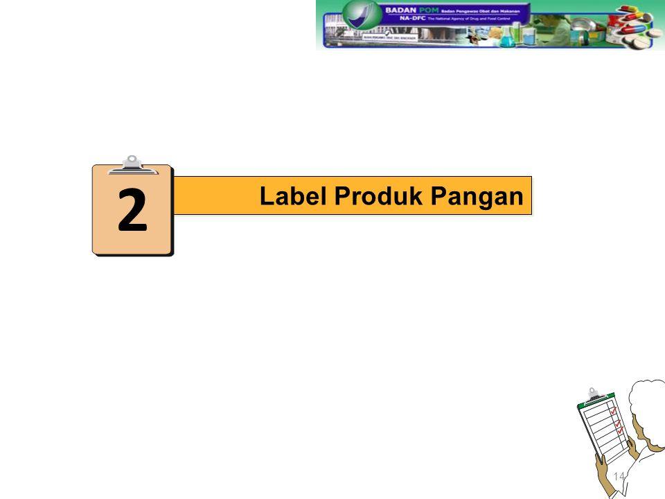 2 Label Produk Pangan