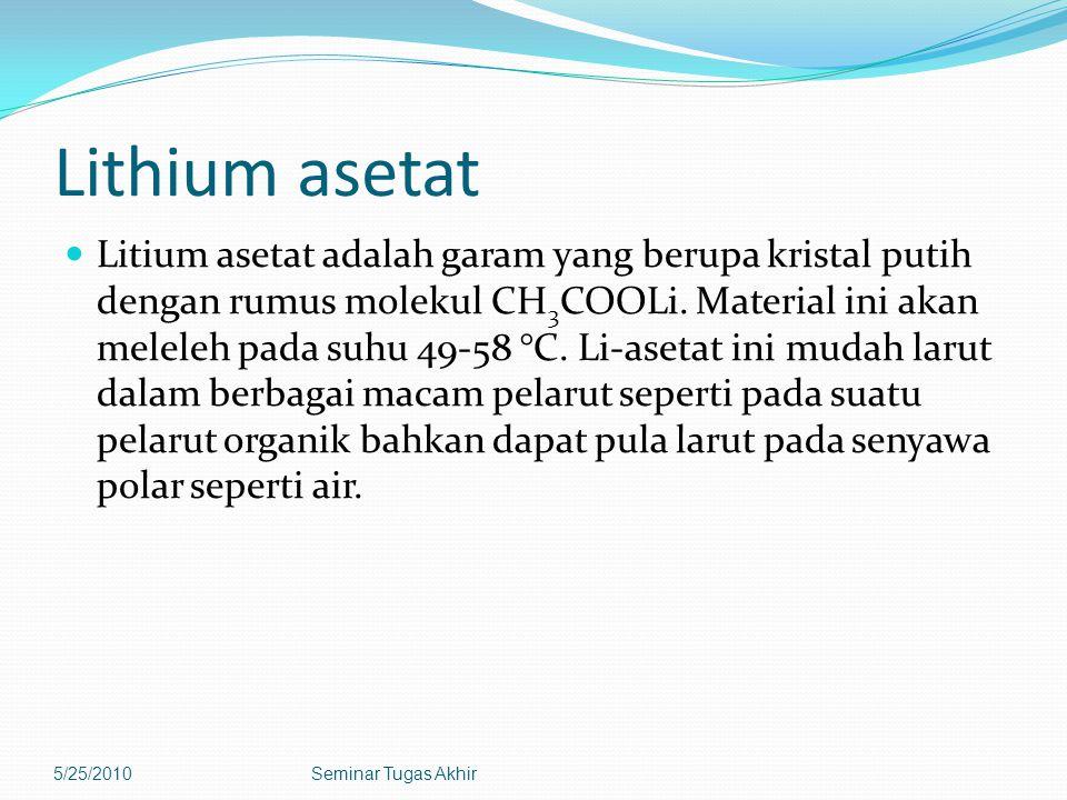 Lithium asetat