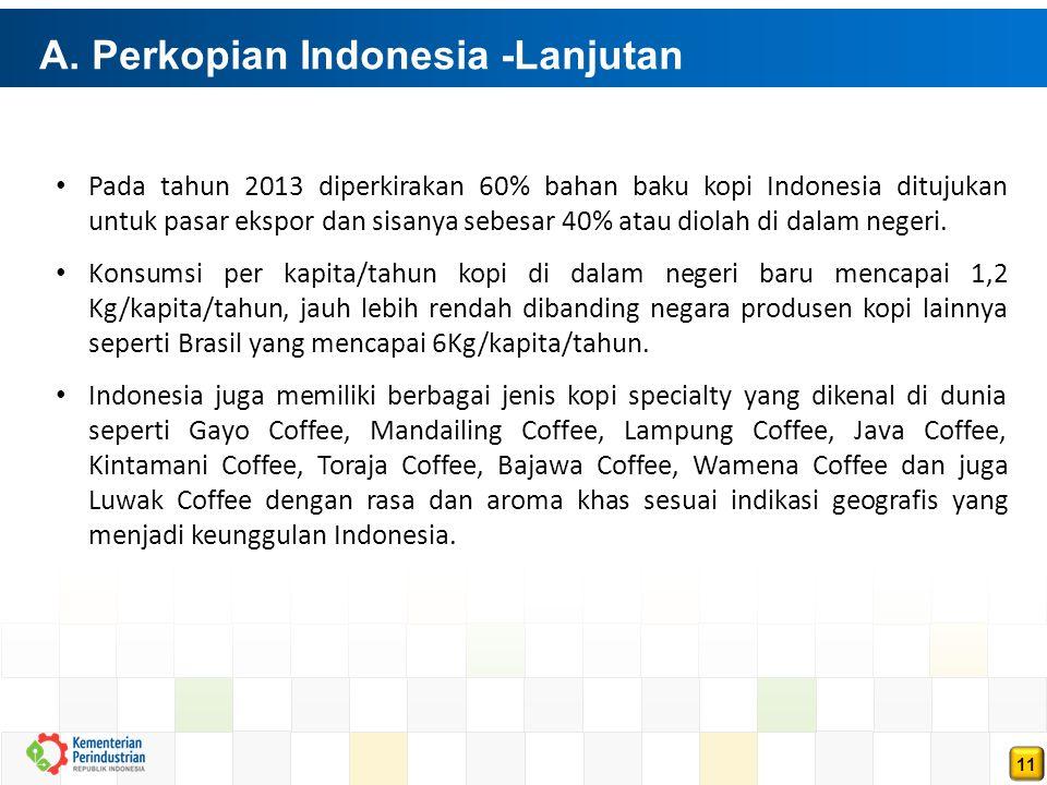 A. Perkopian Indonesia -Lanjutan