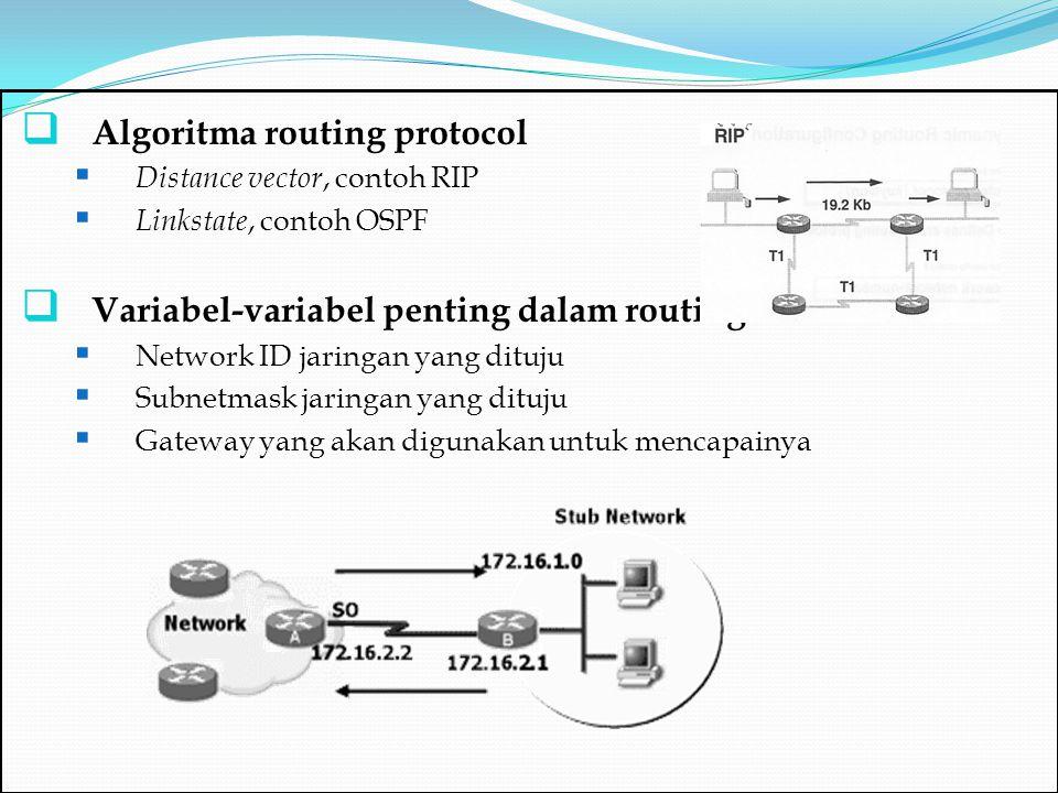 Algoritma routing protocol
