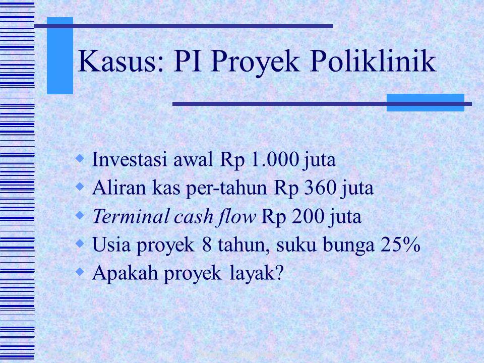 Kasus: PI Proyek Poliklinik