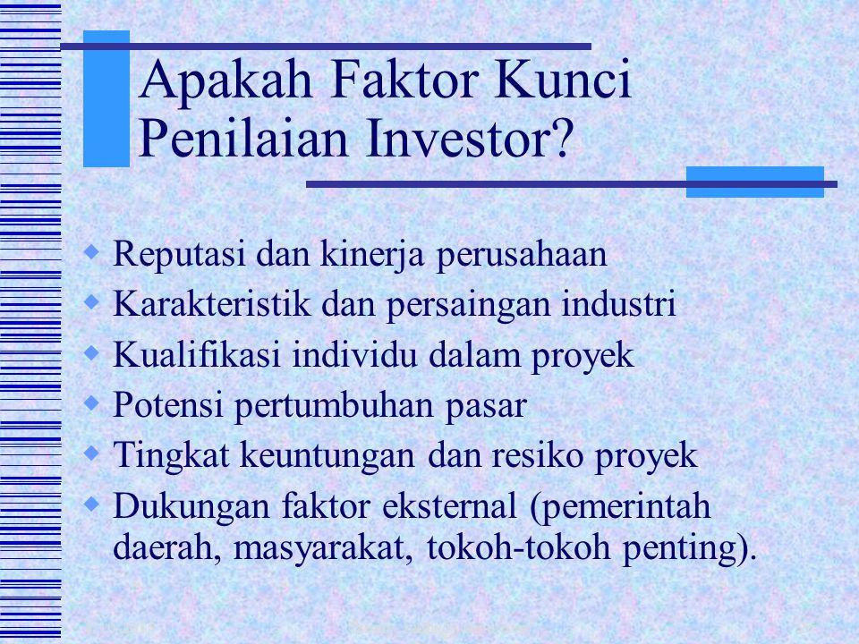 Apakah Faktor Kunci Penilaian Investor