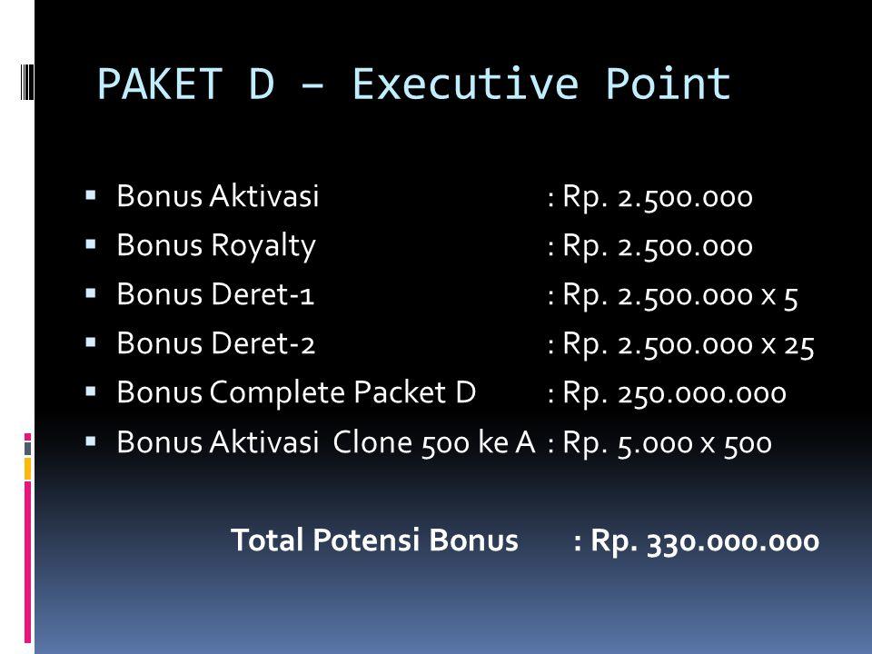PAKET D – Executive Point