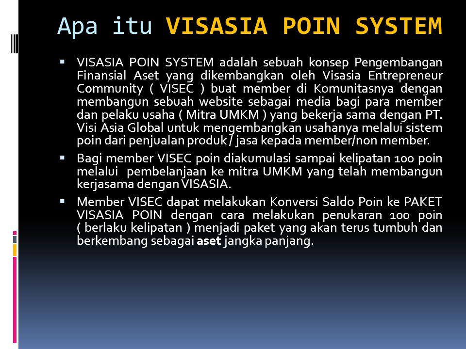 Apa itu VISASIA POIN SYSTEM