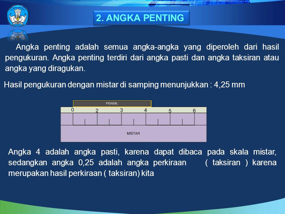2. ANGKA PENTING