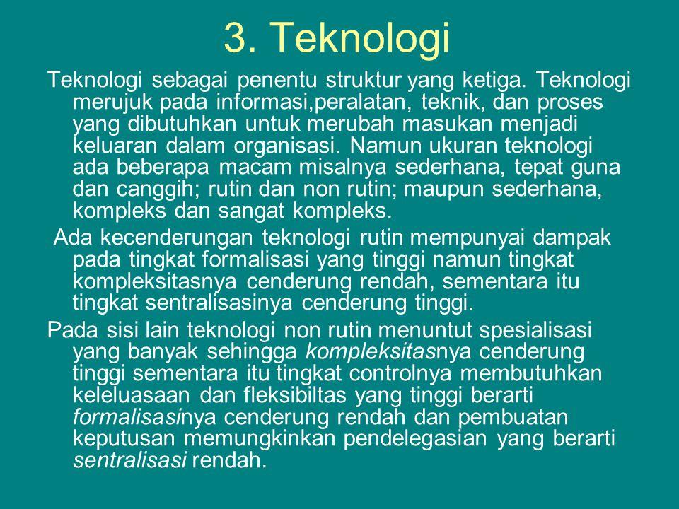 3. Teknologi