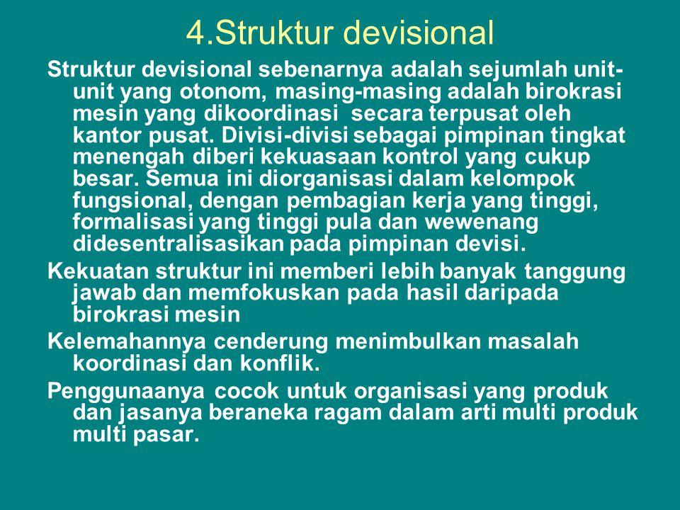 4.Struktur devisional