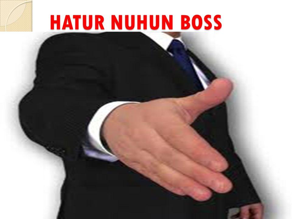 HATUR NUHUN BOSS
