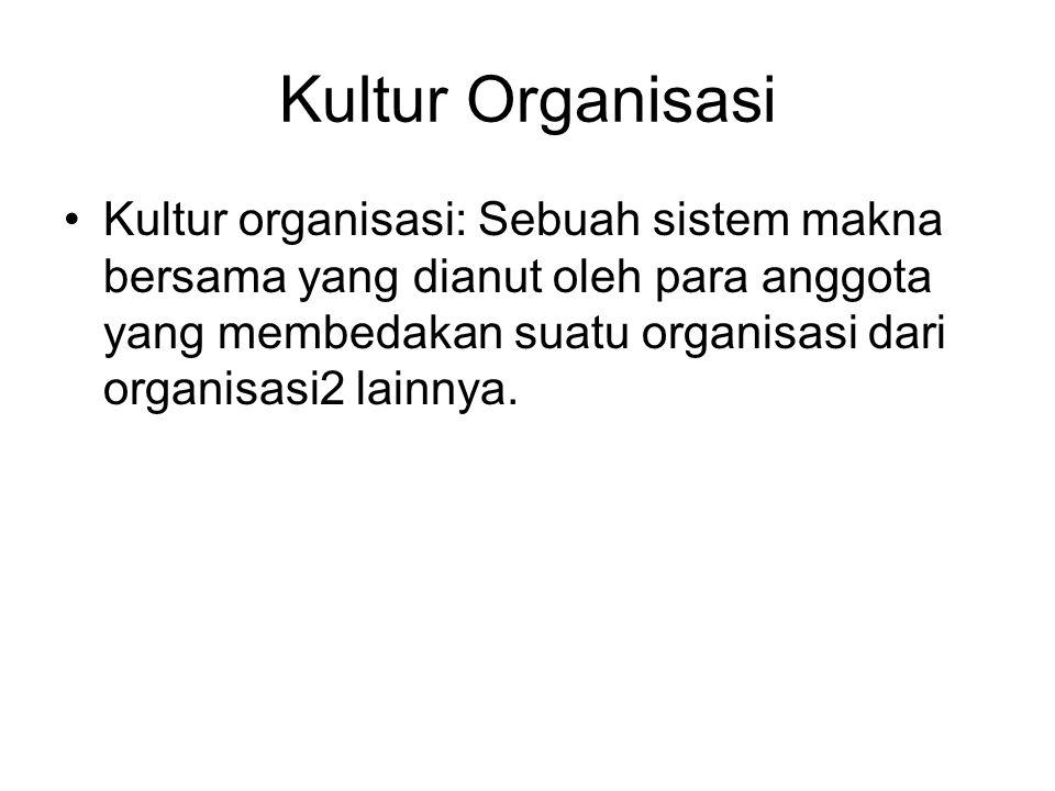 Kultur Organisasi