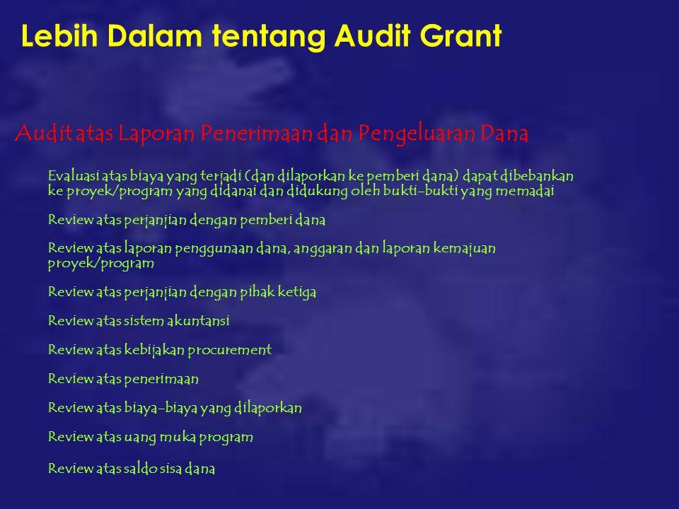 Lebih Dalam tentang Audit Grant