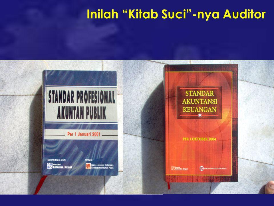 Inilah Kitab Suci -nya Auditor
