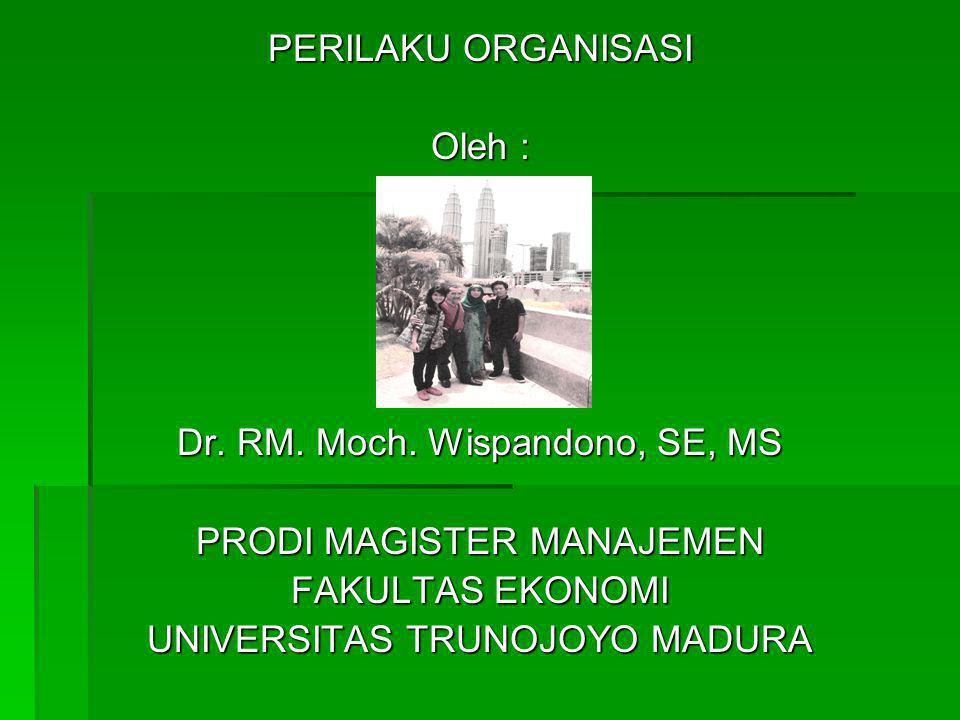 Dr. RM. Moch. Wispandono, SE, MS PRODI MAGISTER MANAJEMEN