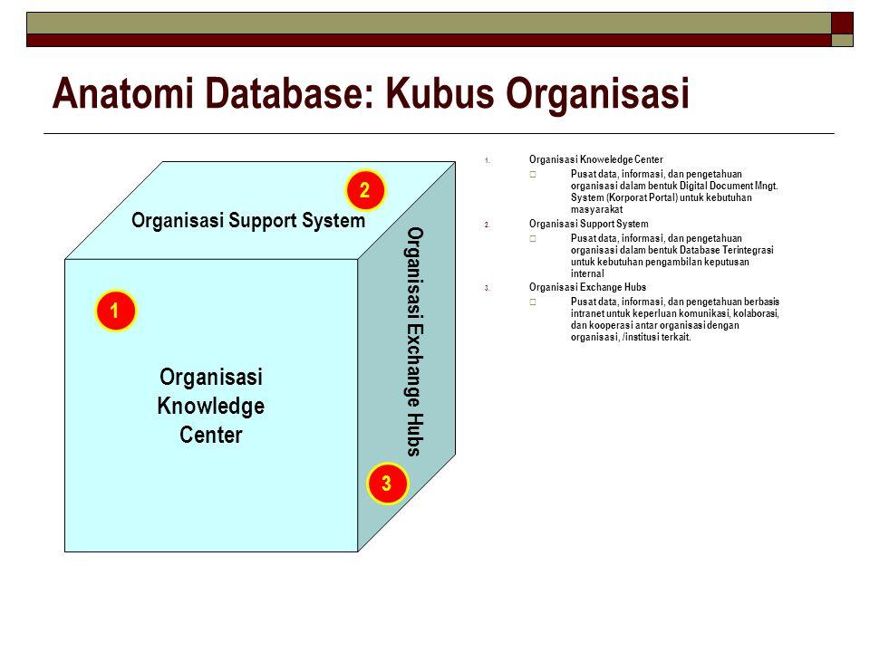 Anatomi Database: Kubus Organisasi