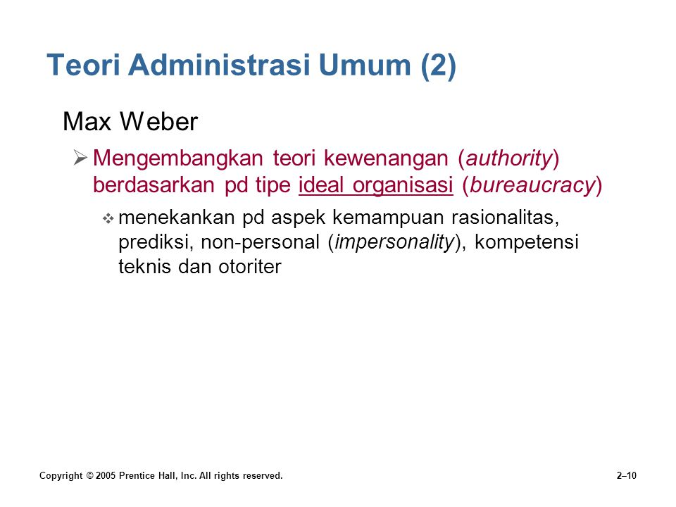 Teori Administrasi Umum (2)