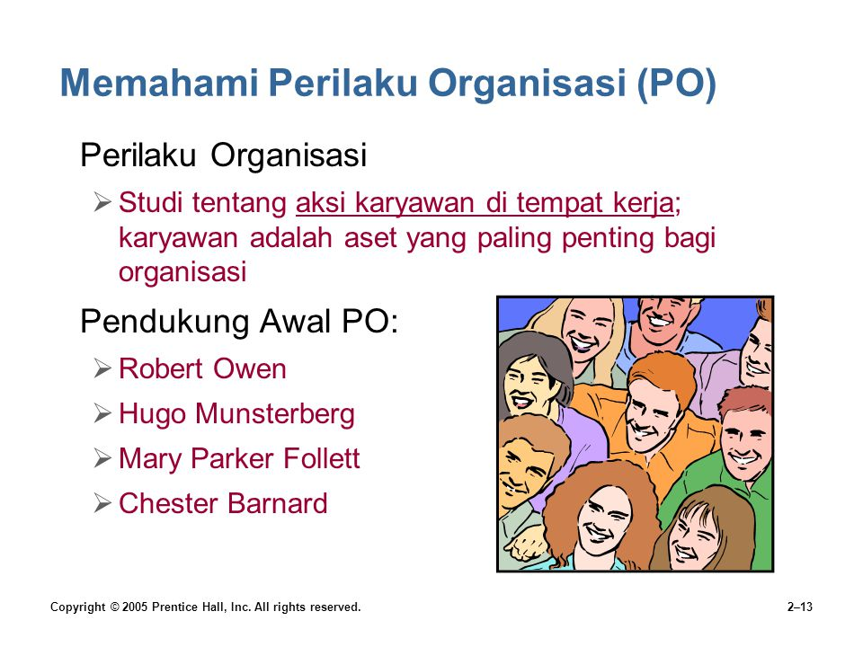 Memahami Perilaku Organisasi (PO)