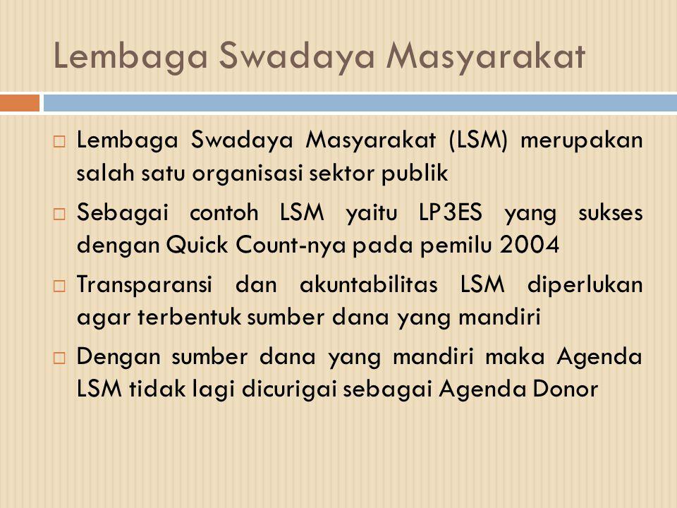 Lembaga Swadaya Masyarakat