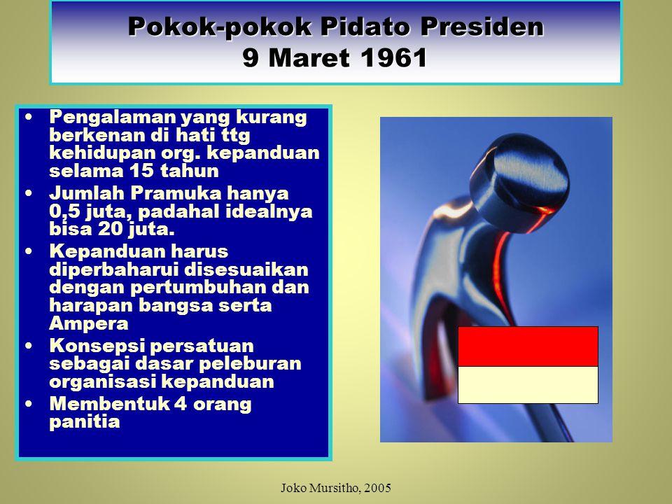 Pokok-pokok Pidato Presiden 9 Maret 1961