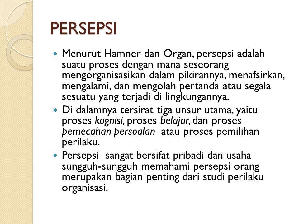 PERSEPSI