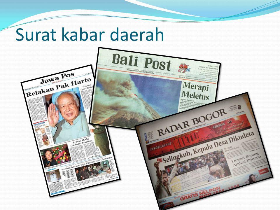 Surat kabar daerah