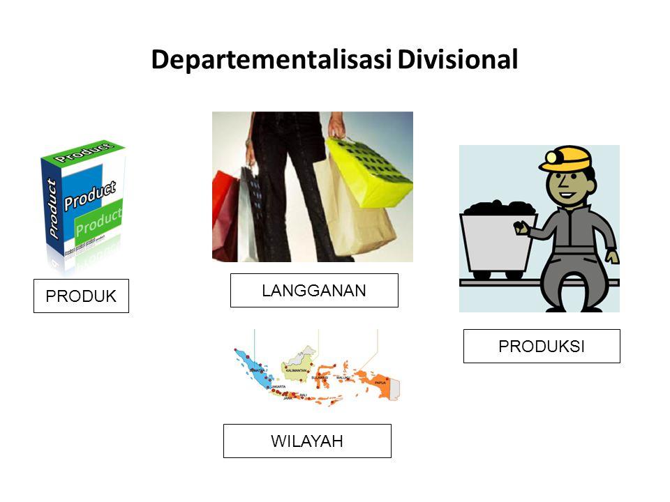 Departementalisasi Divisional