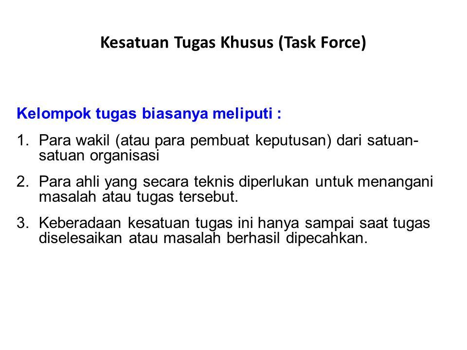 Kesatuan Tugas Khusus (Task Force)