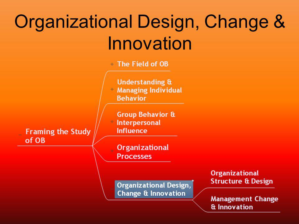 organisational innovation