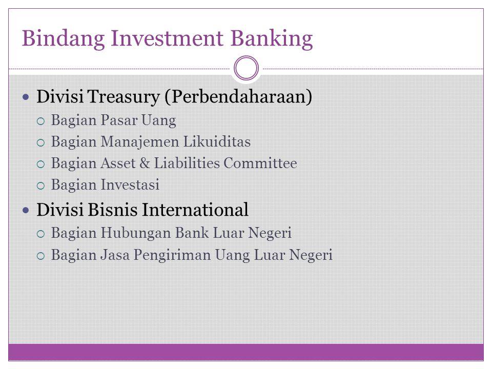 Bindang Investment Banking
