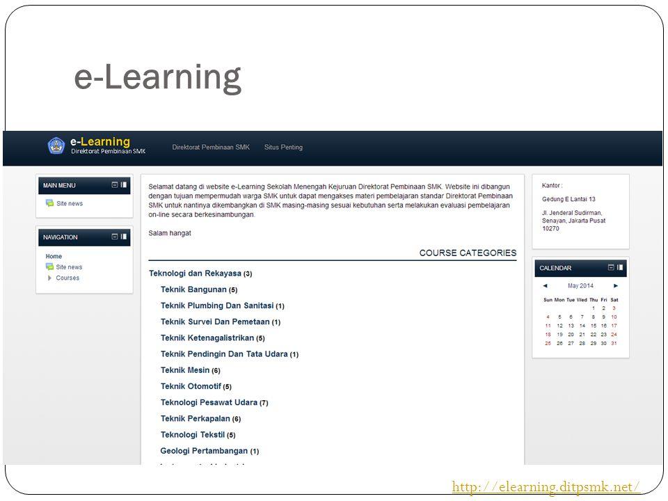 e-Learning http://elearning.ditpsmk.net/
