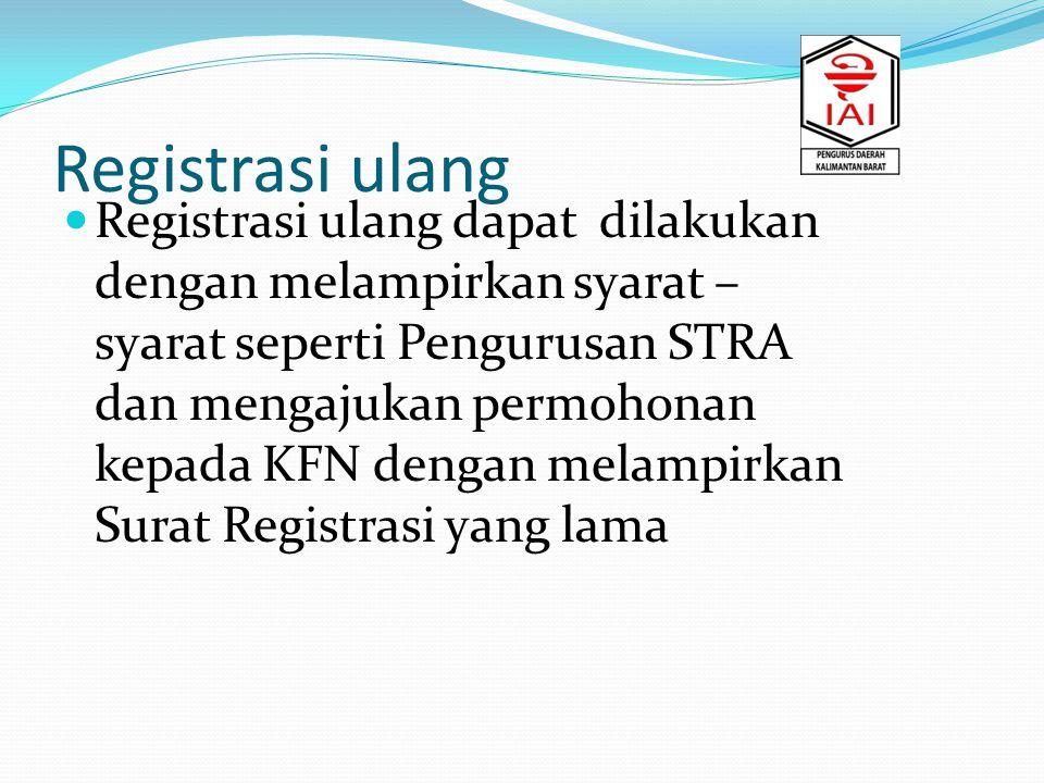 Registrasi ulang