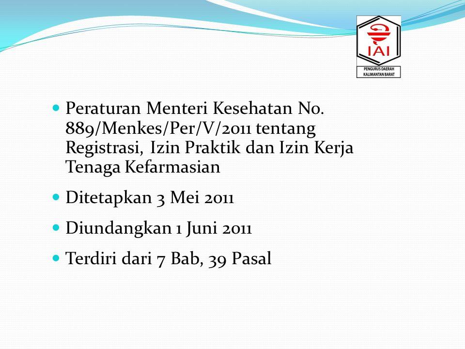 Peraturan Menteri Kesehatan No