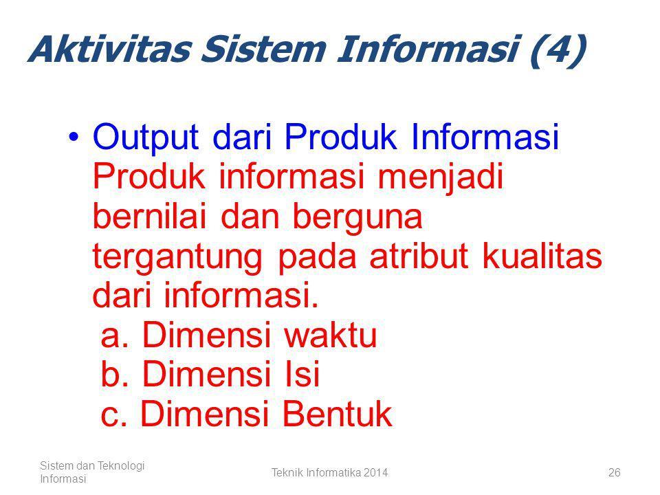 Aktivitas Sistem Informasi (4)