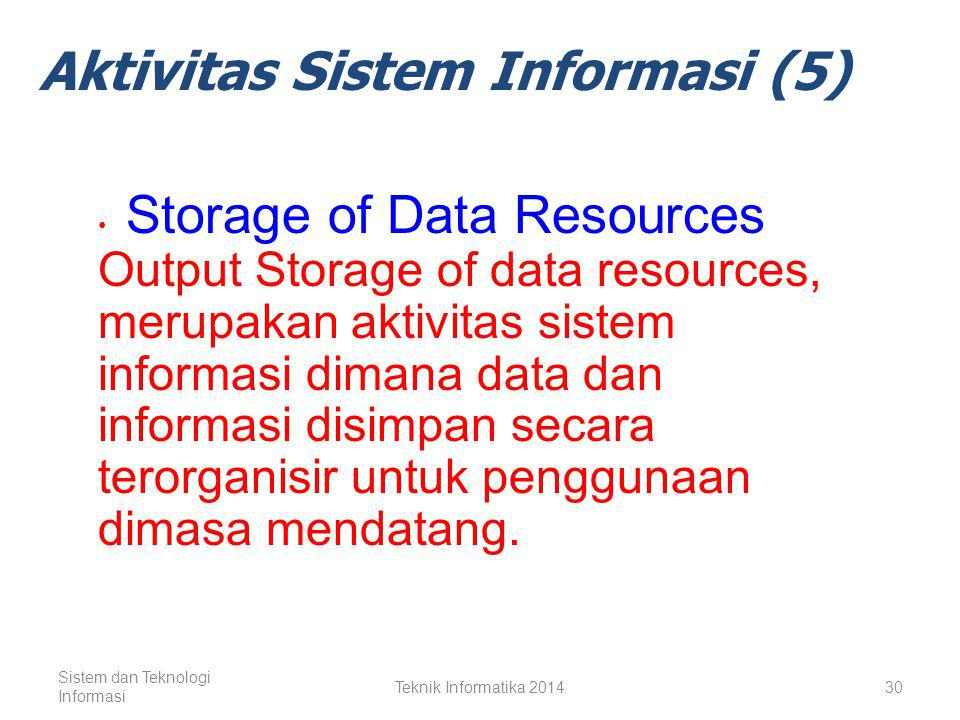 Aktivitas Sistem Informasi (5)
