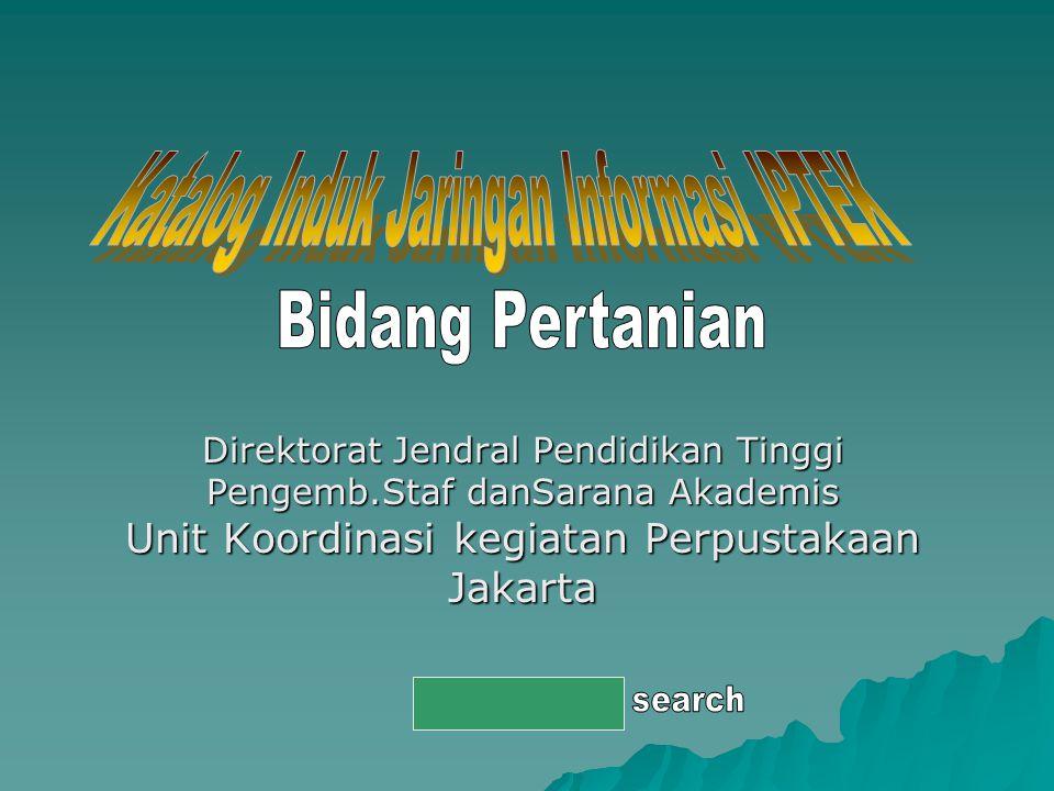 Katalog Induk Jaringan Informasi IPTEK