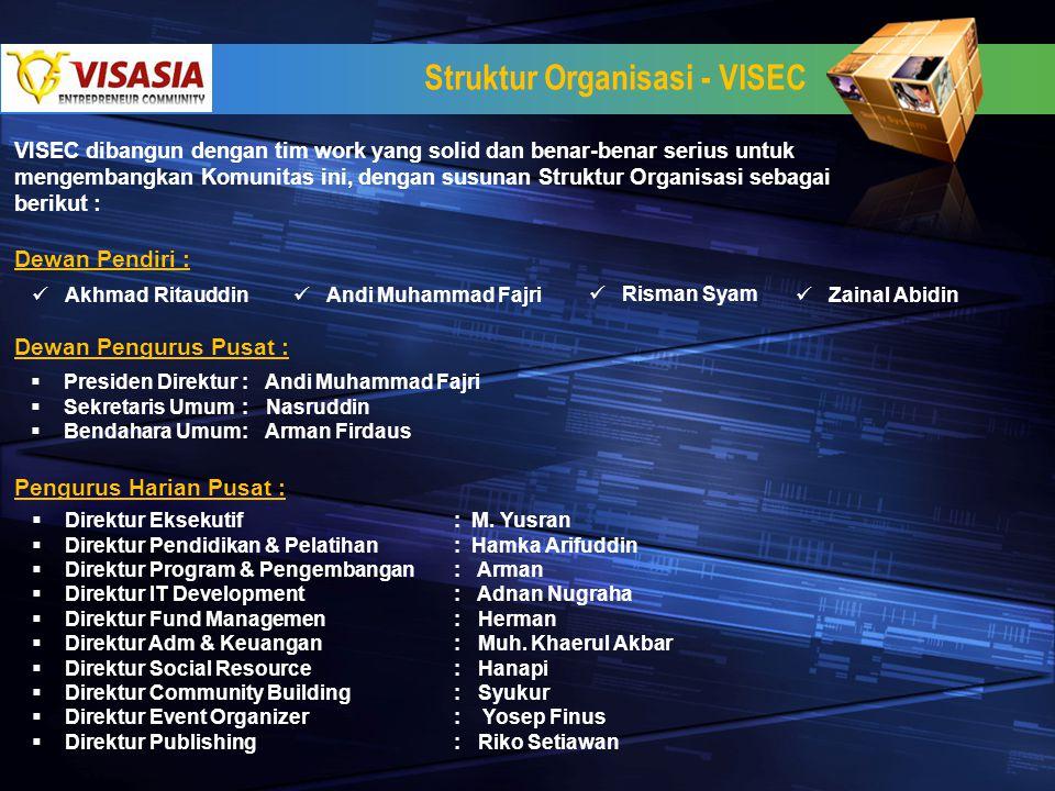 Struktur Organisasi - VISEC