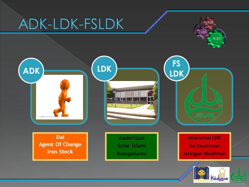 ADK-LDK-FSLDK LDK FS LDK ADK Dai Agent Of Change Iron Stock Kaderisasi