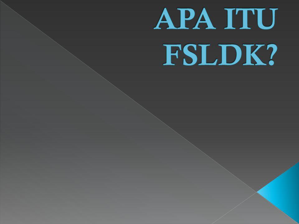 APA ITU FSLDK