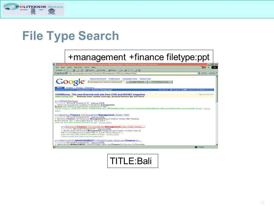 +management +finance filetype:ppt
