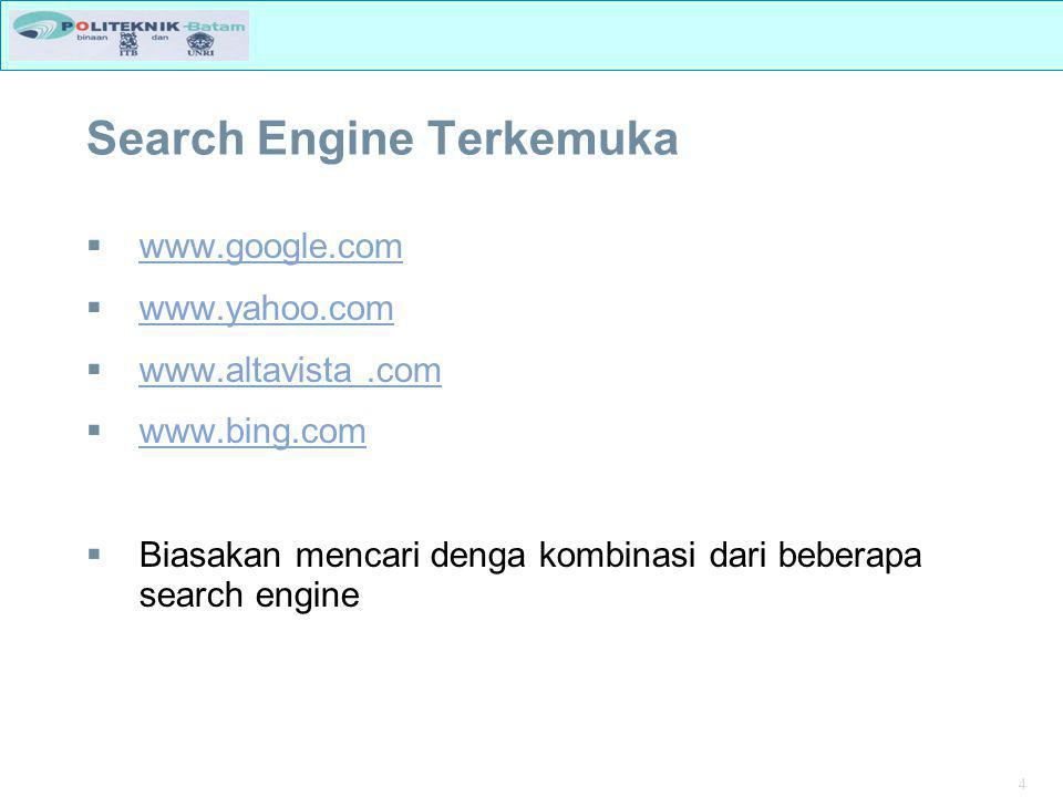 Search Engine Terkemuka